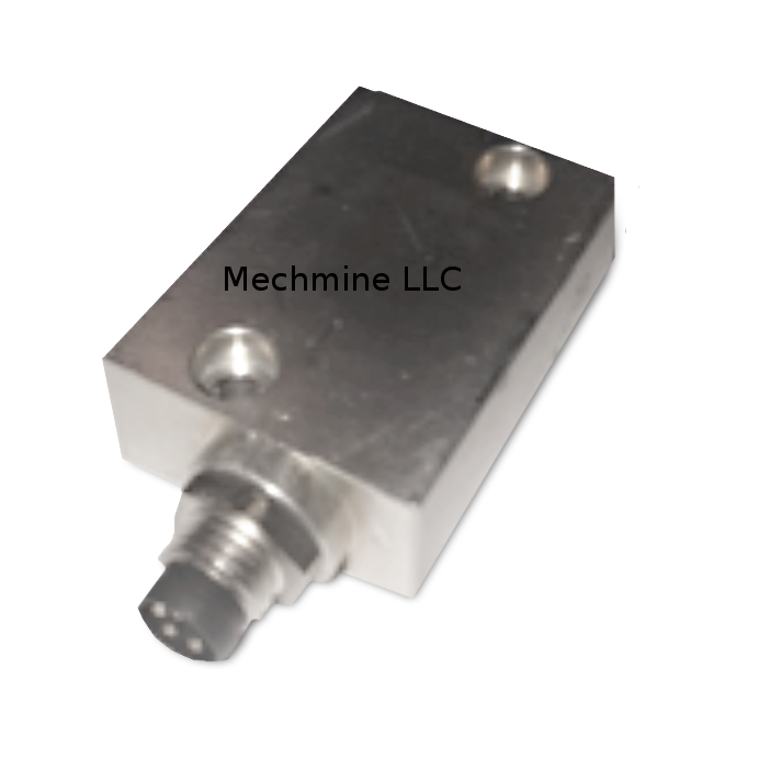 mechmine llc predictive maintenance 2D mems sensor sideview