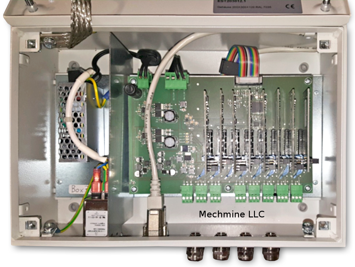 mechmine llc predictive maintenance data acquisition unit mmBox Mk1 topview